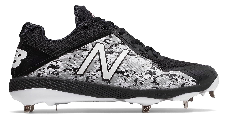 (ニューバランス) New Balance 靴シューズ メンズ野球 Pedroia 4040v4 Black with White ブラック ホワイト US 6 (24cm) B075P1QHHY