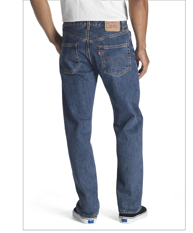 Levi's 00501-1826 Levi`s 501 Original Fit, 00501 Jeans Homme (Bleu (Dark Stonewash))