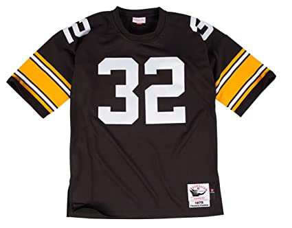 2610371c8c1 Image Unavailable. Image not available for. Color: Mitchell & Ness Pittsburgh  Steelers 1975 Franco Harris Authentic Throwback Team Color Jersey ...