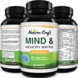 Mind and Memory Supplement for Brain Health - Nootropics Brain Support Supplement for Mental Focus Concentration and Performa