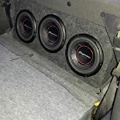 Amazon.com: Pioneer TS-W254R 10-Inch Component Subwoofer
