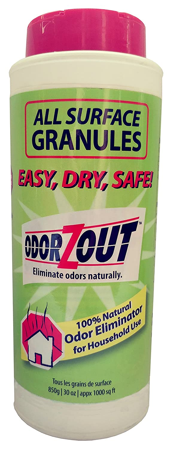 ODORZOUT All Surface Odor Removal Granules, 30 oz. (850g) Bottle