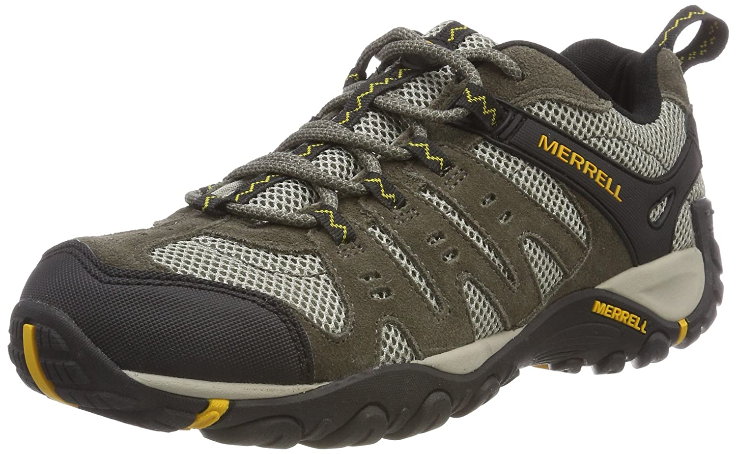 Merrell Merrell Merrell Men's Accentor Hiking Stiefel, Boulder Old Gold, 8 M US ae5cbc