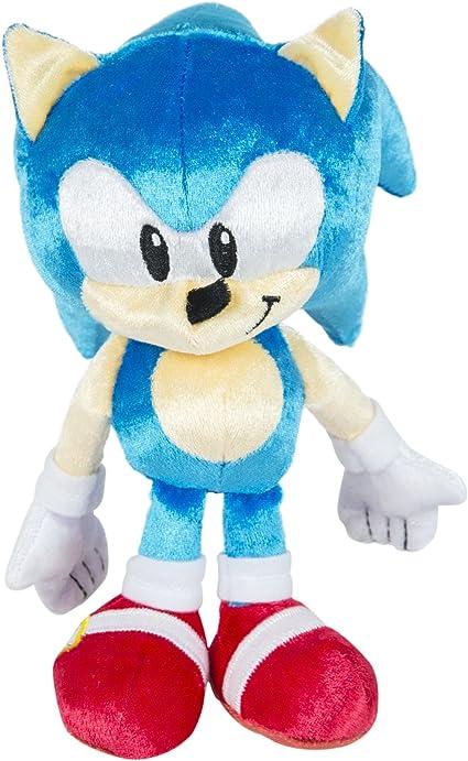 Amazon Com Sonic 25th Anniversary Small Plush 1991 Sonic Toys Games