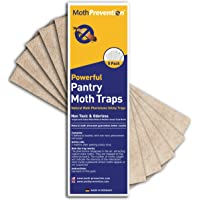 MothPrevention Powerful Pantry Moth Trap 5-Pack | Pantry Moth Killer Traps Unique Design for Maximum Pheromone Dispersal…