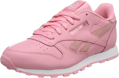 Reebok Cl Leather Spring, Zapatillas de Deporte para Niñas: Amazon.es: Zapatos y complementos