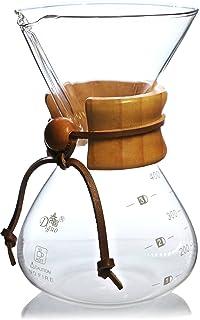 Amazon.com: diguo de vidrio mango Series Cafetera vidrio ...