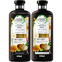 Herbal Essences Bio:Renew Coconut Milk Shampoo 400 ml + Conditioner 400ml