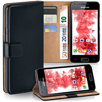 839839e77d5 Bolso OneFlow para Funda Samsung Galaxy S Advance Cubierta con Tarjetero |  Estuche Flip Case Funda móvil Plegable | Bolso móvil Funda Protectora  Accesorios ...