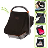 SnoozeShade Universal Car Seat Canopy, blocks 99% of UV with 360-degree protection