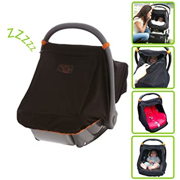 SnoozeShade Universal Car Seat Canopy blocks 99% of UV with 360-degree protection  sc 1 st  Amazon.com : universal car seat canopy - memphite.com
