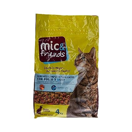 Mic & Friends Alimento Completo para Gatos con Pollo Y Buey - 4000 gr: Amazon.es: Amazon Pantry