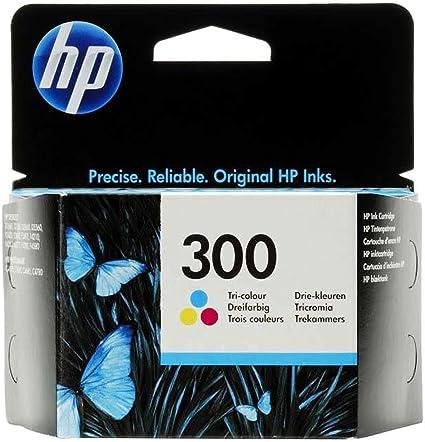 HP 300 - Cartucho de tinta Original HP 300 Tricolor para HP ...