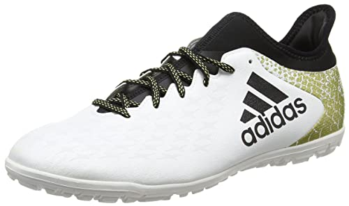 low cost d6a15 16283 Adidas X 16.3 TF Astro Turf - Zapatillas de fútbol para Hombre, Golden-Black