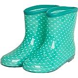 [アリサナ] ながぐつ 女の子 長靴 キッズ レインブーツ 子供 レインシューズ こども用 ドット柄