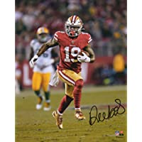 """$71 » Deebo Samuel San Francisco 49ers Autographed 8"""" x 10"""" Red Running Photograph - Fanatics Authentic Certified"""