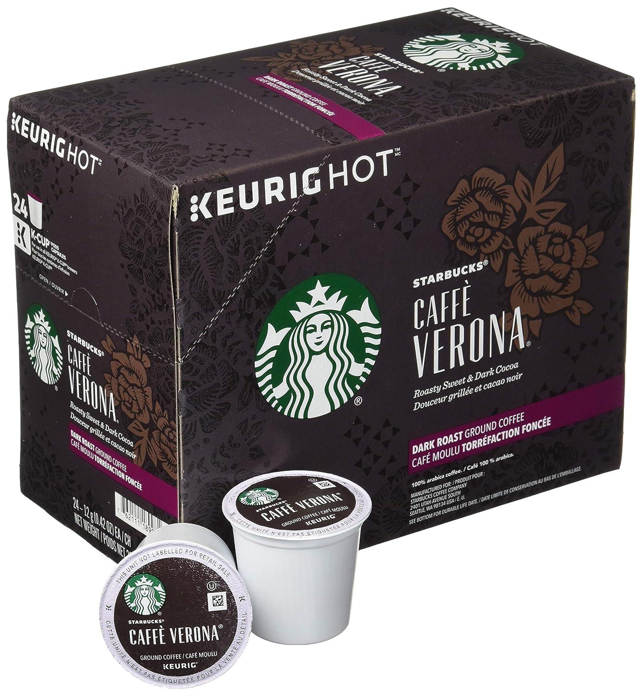 Café Verona de Starbucks, paquete de 96 tazas: Amazon ...