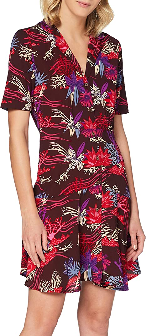 Scotch /& Soda Damen Blumen-Print Badeanzug