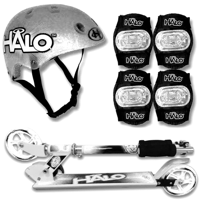 Halo 2004455 Sicherheit Pads Helm Set, Silber
