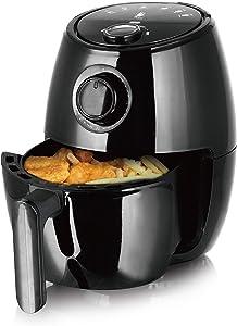 J-Jati Cool Touch Housing Dial/Digital Hot Air Healthy Frying Air Fryer (Black) (2.0L)