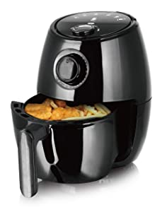 J-Jati Air Fryer 2.0 L 500g Capacity Hot air Healthy Frying Cool-touch Housing Frying Grill Included Acoustic Ready signal Air Fryer oven cooker, Hot Air System for Healthier Frying