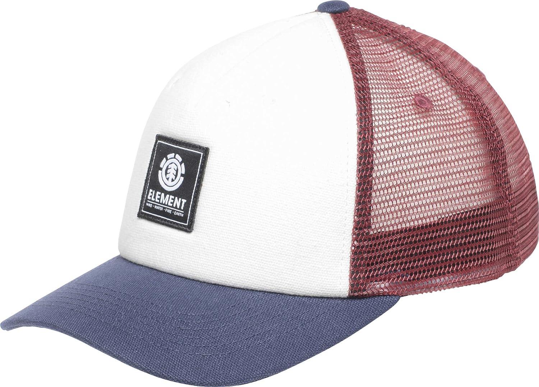 Element Icon Mesh Cap Caps, Hombre, Oxblood Red, One Size: Amazon ...