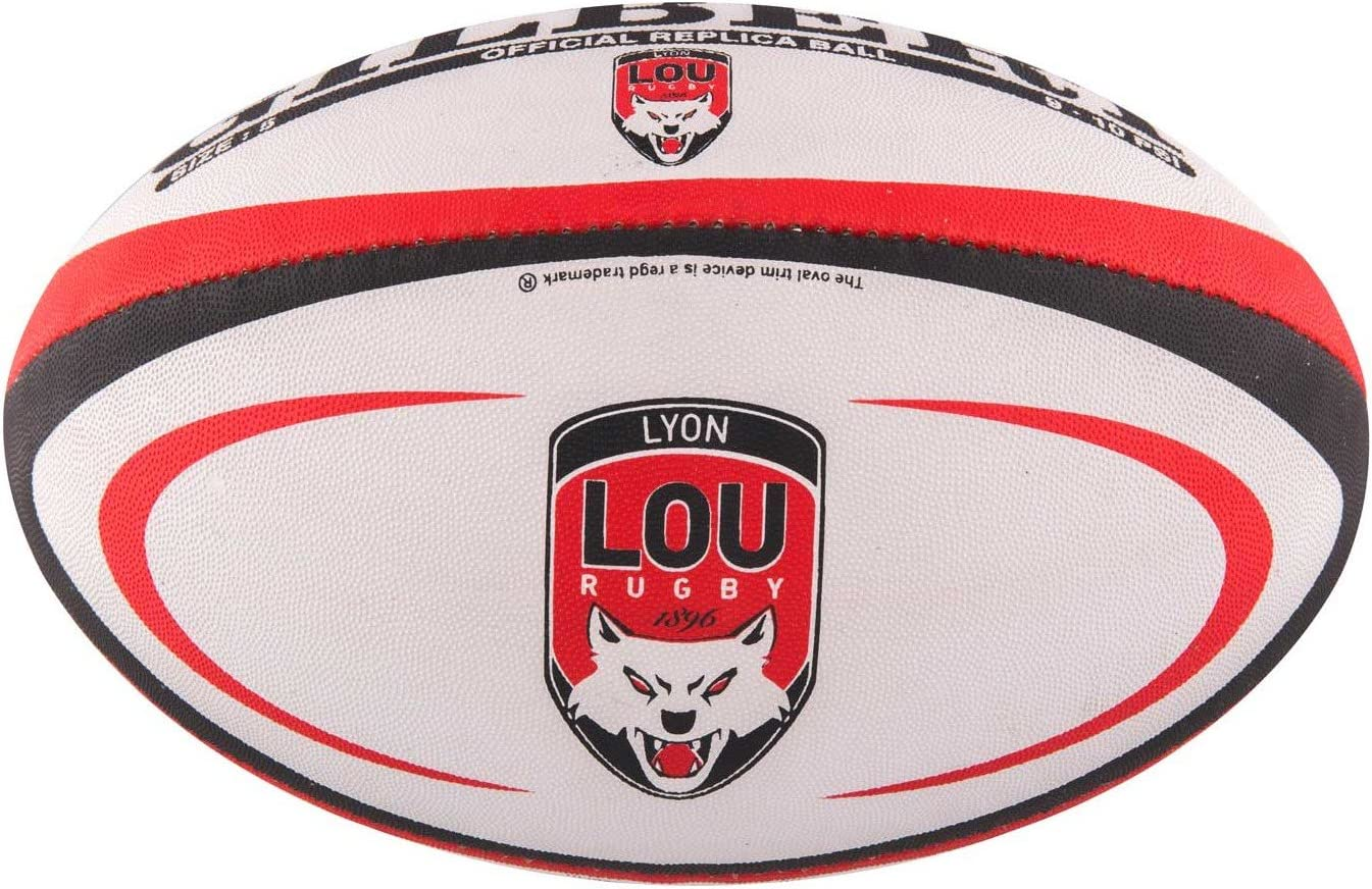Gilbert Mini Ballon de Rugby Lyon (Taille 1): Amazon.es: Deportes ...