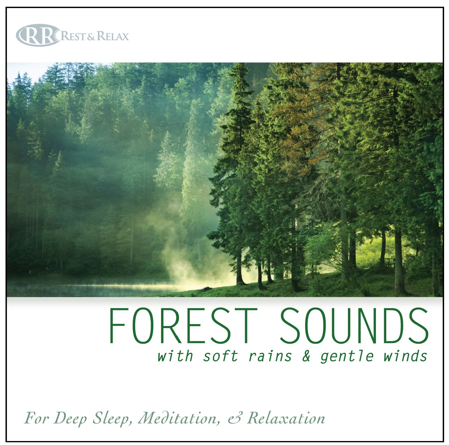Forest Sounds: with Soft Rains & Gentle Winds (Nature Sounds, Deep Sleep Music, Meditation, Relaxation Sounds of Nature)