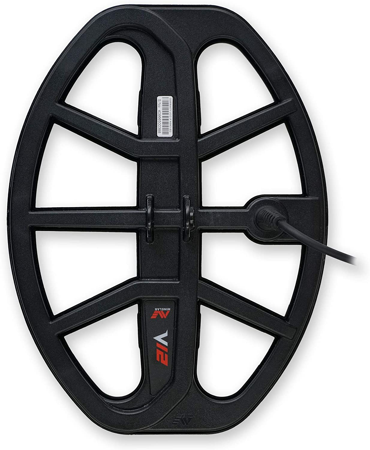 Minelab Vanquish 540 Metal Detector with V12 12 x 9 Double-D Coil
