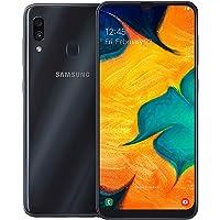 Samsung Galaxy A30 Dual SIM 64GB 4GB RAM 4G LTE (UAE Version) - Black