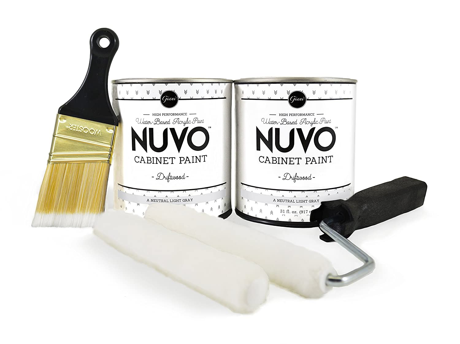 Giani Granite - Nuvo Cabinet Paint, Driftwood - - Amazon.com