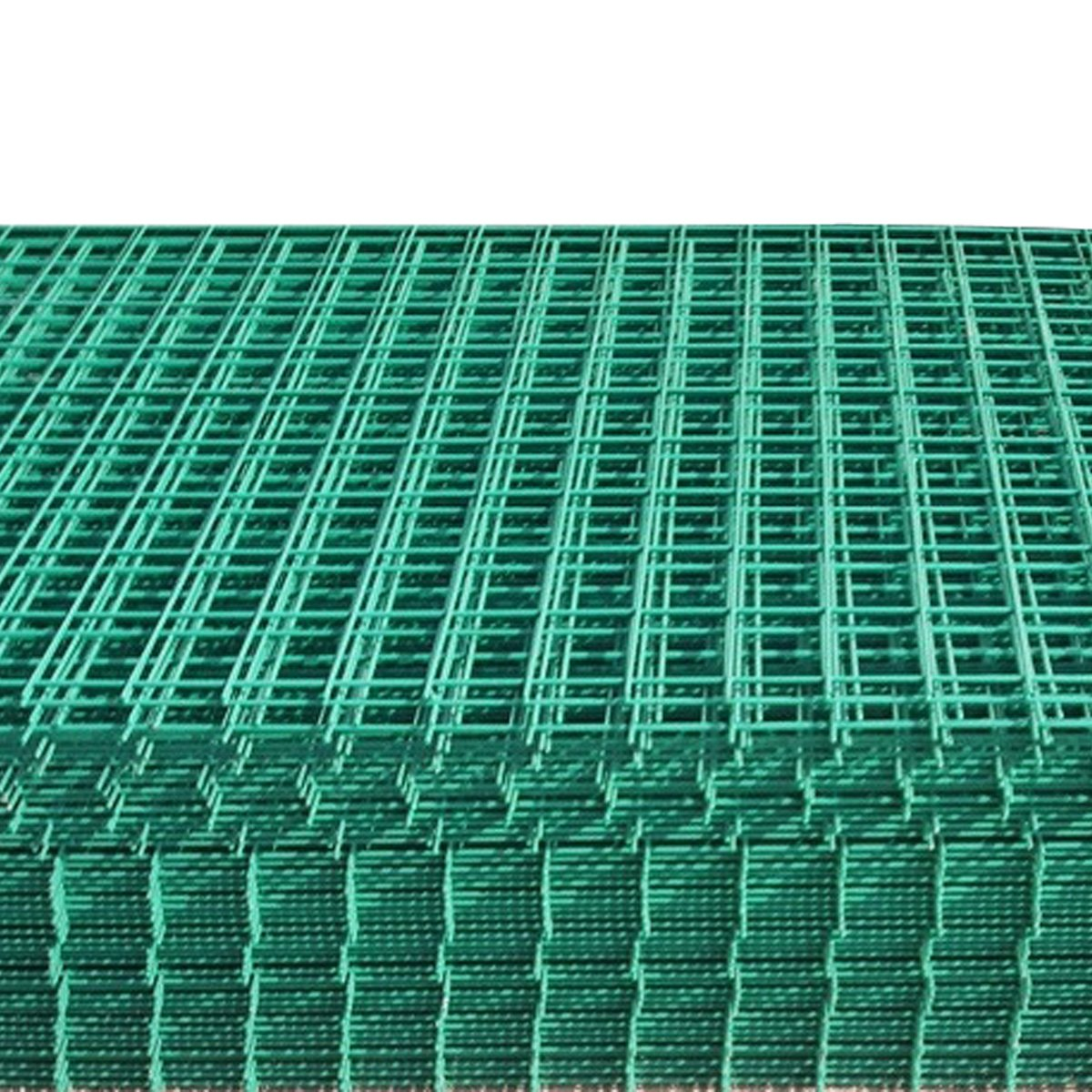 Suregreen 8 Pack of Green PVC Coated Welded Wire Mesh Panel 1.8m x ...