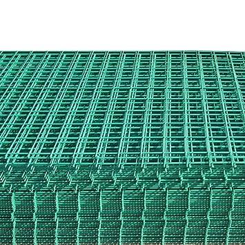 Welded Wire Mesh Panel | Suregreen Green Pvc Coated Welded Wire Mesh Panel 6ftx3ft 12gauge