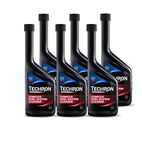 Chevron 67740-CASE Techron Concentrate Plus Fuel System Cleaner - 12 oz ,  (Pack of 6)