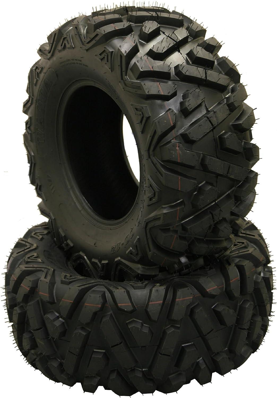 2 New WANDA ATV Tires 25x10-12 25x10x12 //6PR P373-10244