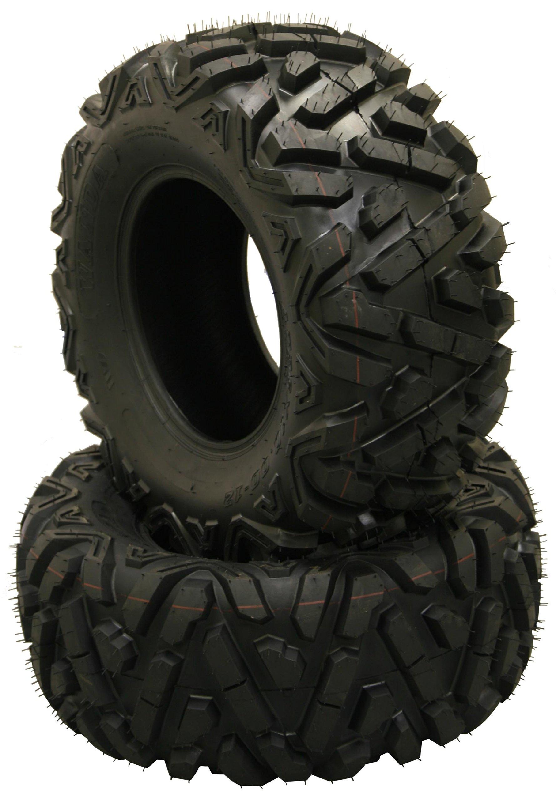 2 New Radial WANDA ATV/UTV Tires 25x8R12 6PR P350 - 10177