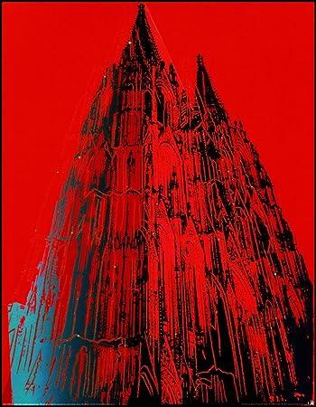 Art-Galerie Bild mit Rahmen Andy Warhol, Cologne Cathedral ...