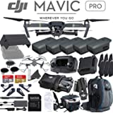 DJI Mavic Pro Quadcopter Drone with 5 Battery Ultimate Bundle