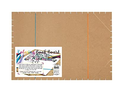 Amazon.com: Coloring Book Board 13 X 19