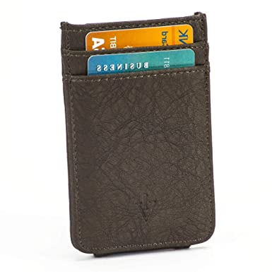 RFID Men/'s Leather Magnetic Front Pocket Money Clip Wallet FATHERS DAY