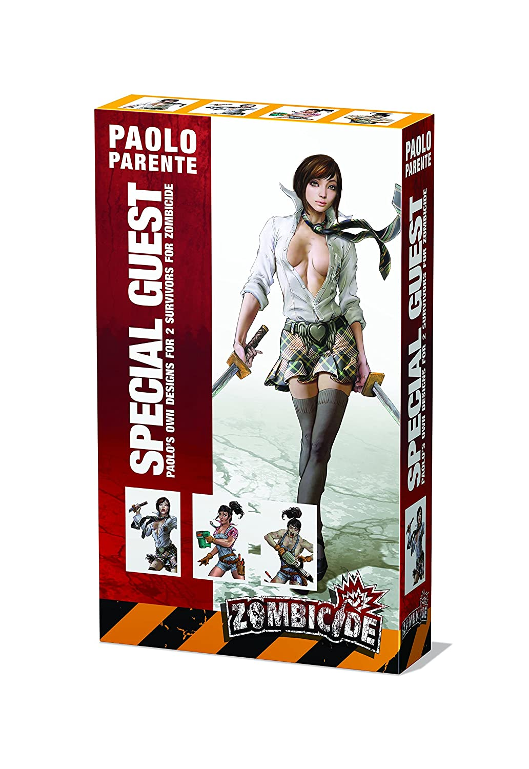 PSI GUG0060 CMON Zombicide Special Guest Box 5 Paolo Parente Board Game Publisher Services Inc