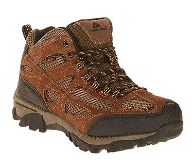58fa8789345 Amazon.com | Ozark Trail Men's Vented Mid Waterproof Leather Hiker ...