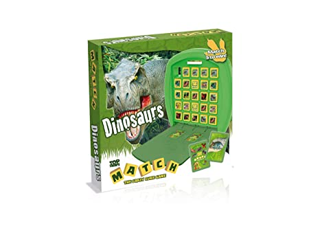 Top Board Games 2020.Amazon Com Dinosaurs Match Top Trumps Board Game Toys Games