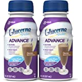 Glucerna Advance Nutrition Shake, To Help Manage Blood Sugar, Chocolate, 8 fl oz, Pack of 16
