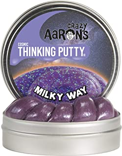 product image for Crazy Aaron's Thinking Putty, 3.2 Ounce, Cosmic Milky Way