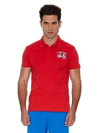 Le Coq Sportif Polo Tdf Fanwear Nº3 Polo SS M: Amazon.es: Ropa y ...