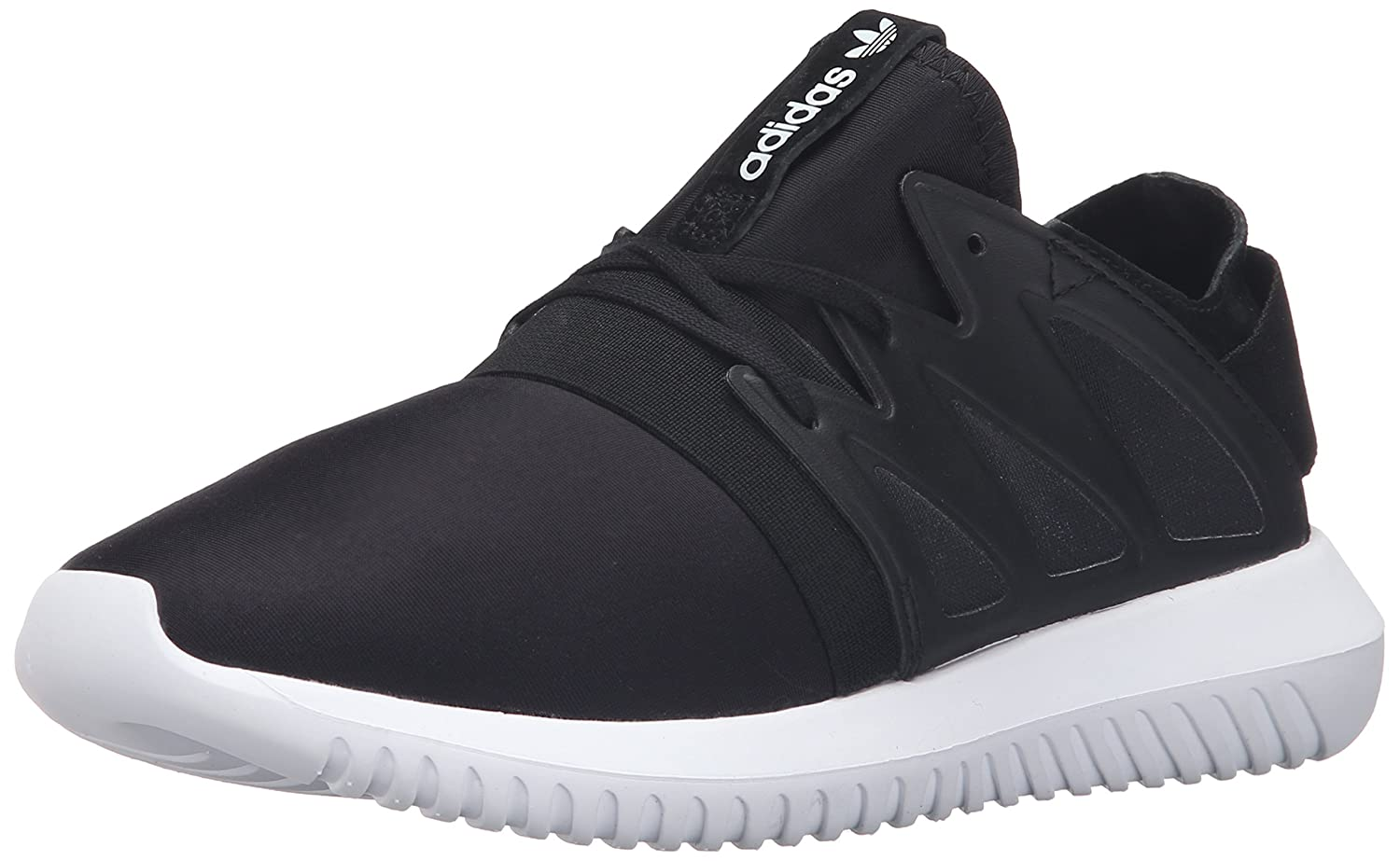 adidas Originals Women's Tubular Viral W Fashion Sneaker B01G01070K 10 M US|Black/Black/White