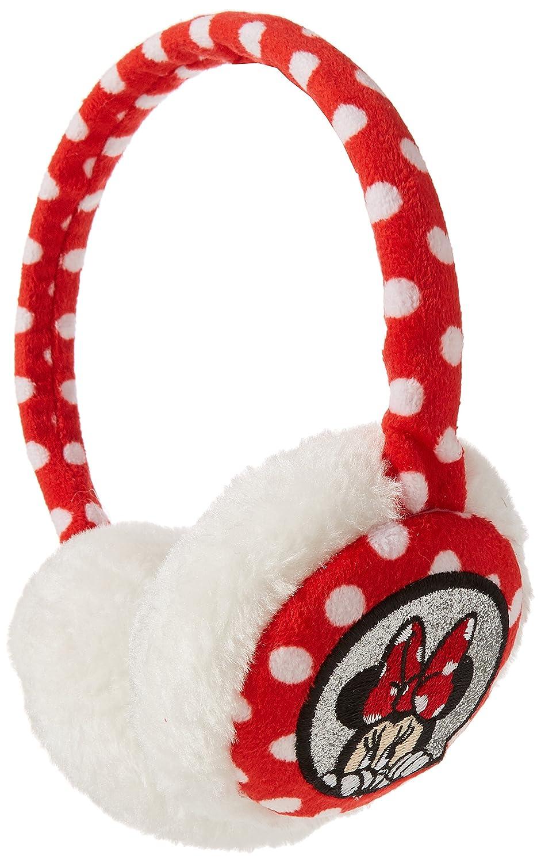 Disney Polka Dot, Paraorecchie Bambina Rosso (Red/White) Taglia Unica RFKEM900