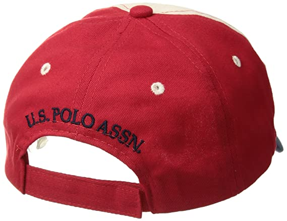 Amazon.com: U.S. Polo Assn. Boys Big Washed Cotton Twill Baseball Cap, Adjustable, Navy one Size: Clothing