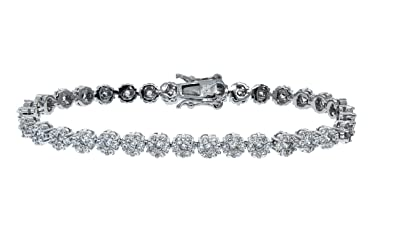 9c9b23db5 Cate & Chloe Ally 18k Tennis Bracelet, Women's 18k Gold Plated Tennis  Bracelet w/